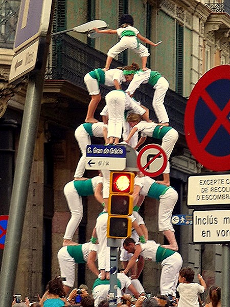 Barcelona- Castells