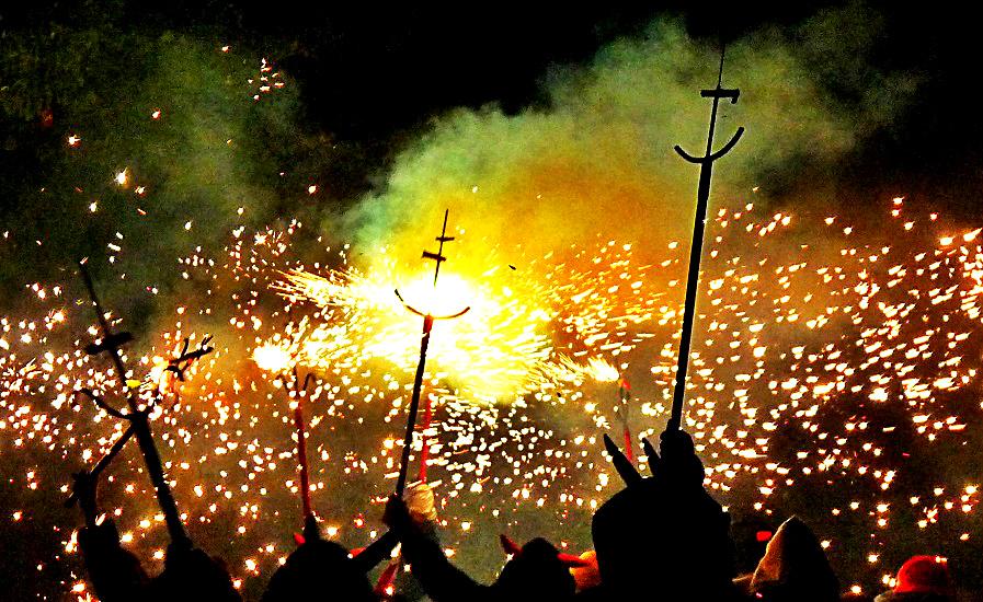 Barcelona Correfoc Ball de Diables