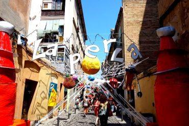 Die bunte Fiesta de Gràcia in Barcelona 12
