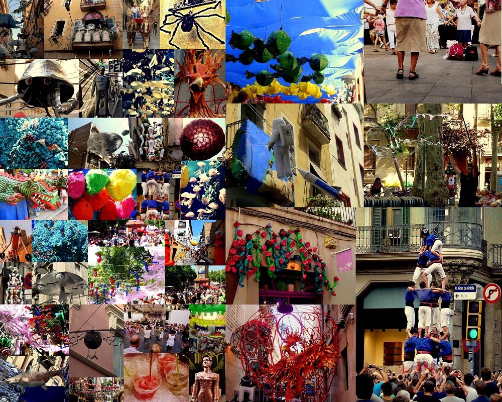 Barcelona Fotos festes de gracia