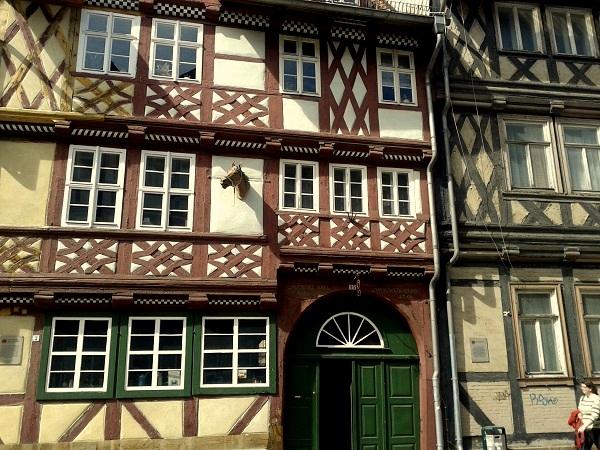 Harz-Wernigerode Fachwerk Altstadt