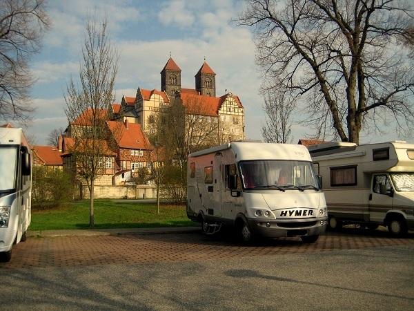 Harz Wohnmobilstellplatz Quedlinburg