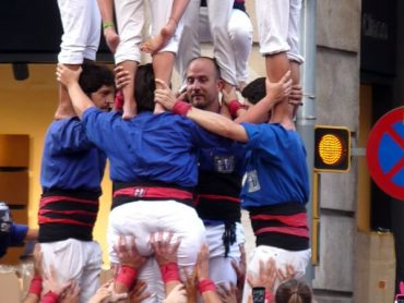 Castells - Menschenpyramiden in Katalonien 9