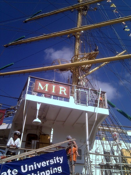 Mir Russland Segelschiff