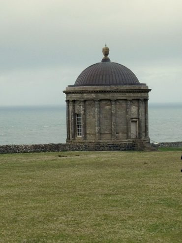 Raues Klima am Mussenden Temple 2