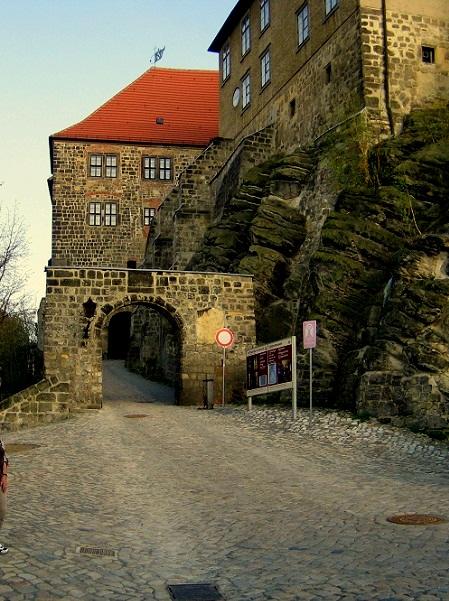 Quedlinburg   im Harz  Schloss