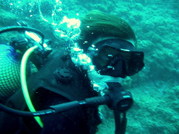 Tauchen Scuba Diver