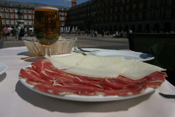 madrid plaza mayor museu -jamon