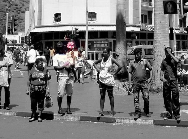 Hauptstrasse Port Louis Zentrum