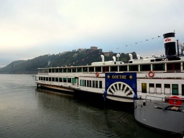 Mit dem Dampfer auf dem Rhein 9