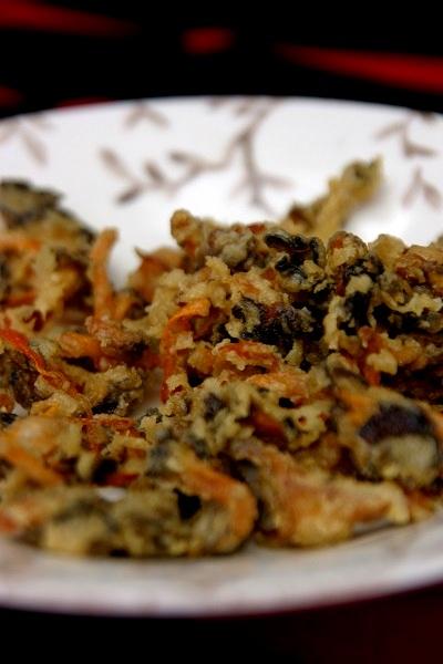 Pilze Rezepte fritiert