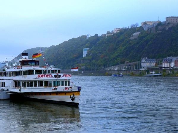 Koblenz Rhein Dampfer