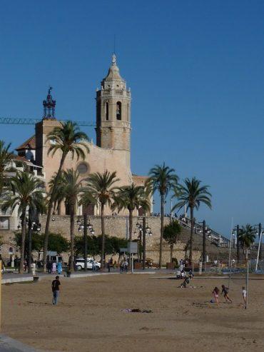 Spanische Hochzeit in Sitges 1