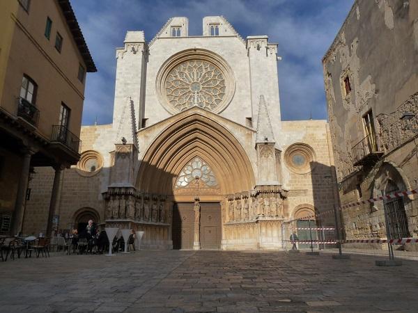 Kathedrale Tarragona Frontseite