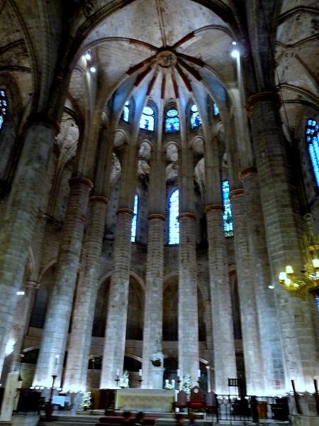 Barcelona Kirchen Basilica Santa Maria del Mar
