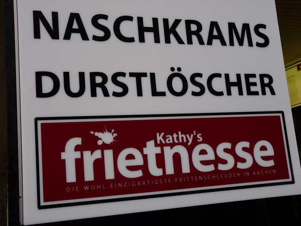 Kathy's Frietnesse Frittenschleuder-Aachen
