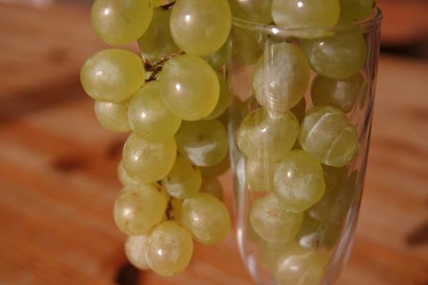 Silvester Spanien Weintrauben
