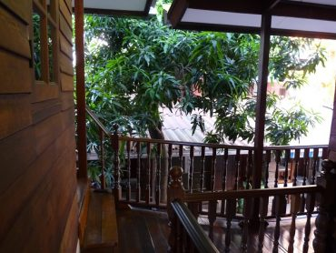 Baan Kao Unterkunft in Bangkok Holzhaus