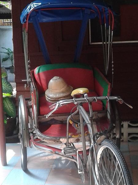 Baan Kao Unterkunft in Bangkok Rikscha