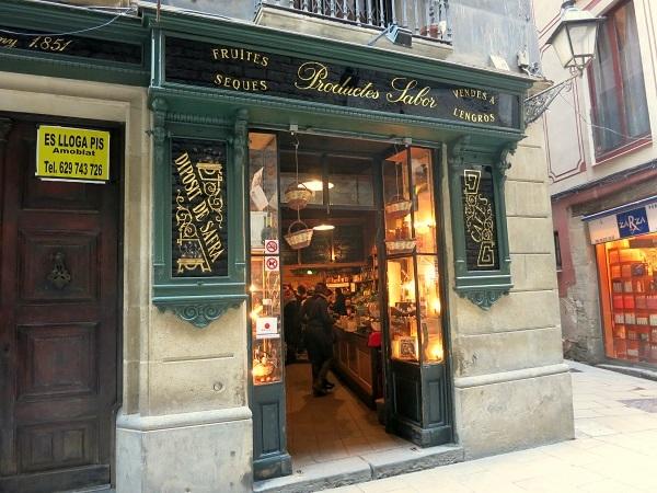 Casa Gispert Barcelona Altstadt Laden