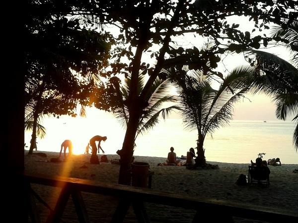 Kho Phangan Thailand Mae Hat Beach