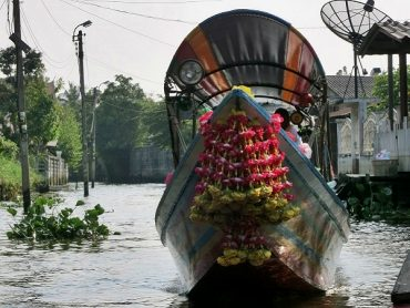 Longtailboat Thonburi Klongs-Bangkok