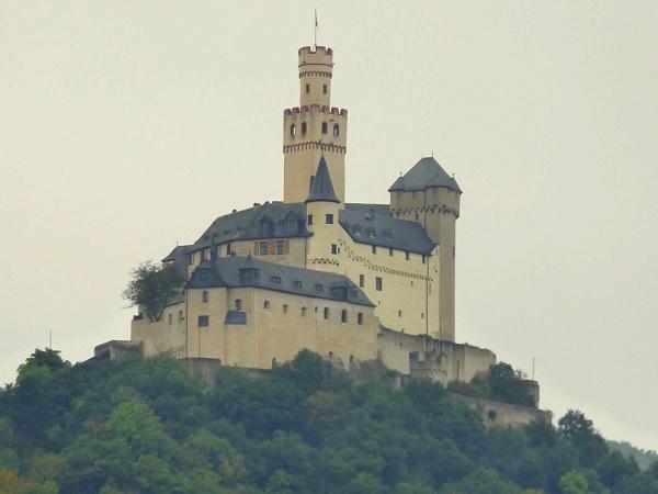 Castillo Marksburg Rhin Alemania