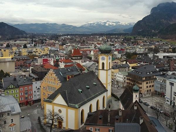 Kufstein - Blick von der Festung