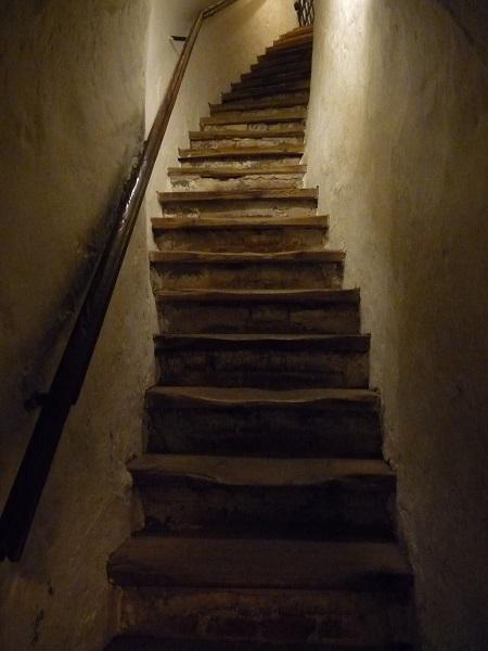 Kufstein Festung Treppe zum Verlies