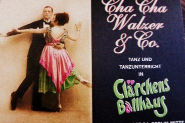 Berlin - Clärchens Ballhaus : Ich schwinge das Tanzbein 2