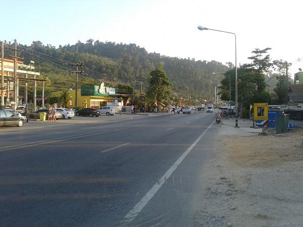 Khao Lak Thailand Hauptstrasse