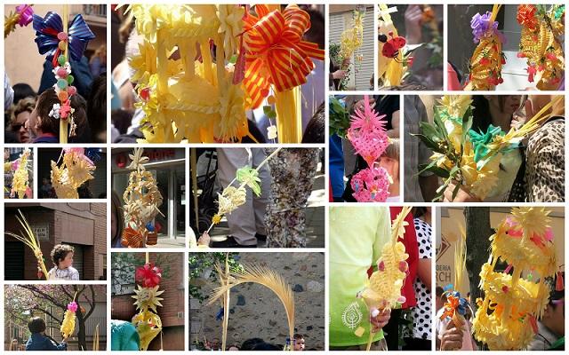Palmsonntag in Spanien Domingo de Ramos Beginn Semana Snta