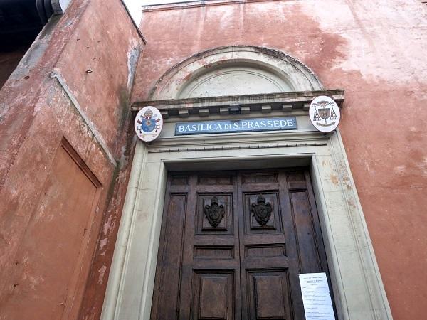 Rom Kirchen Basilica Prassede