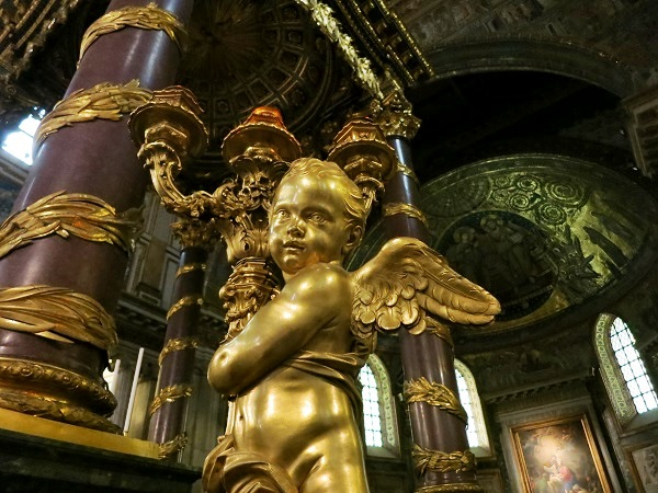 Rom Santa Maria Maggiore Engel