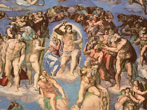 Rom Vatikan Vatikanische Museen - Sixtinische Kapelle Schautafel