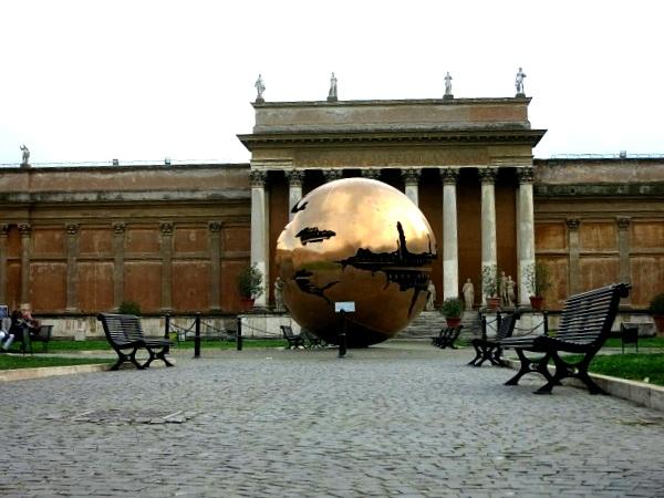 Rom Vatikanische Museen Gärten