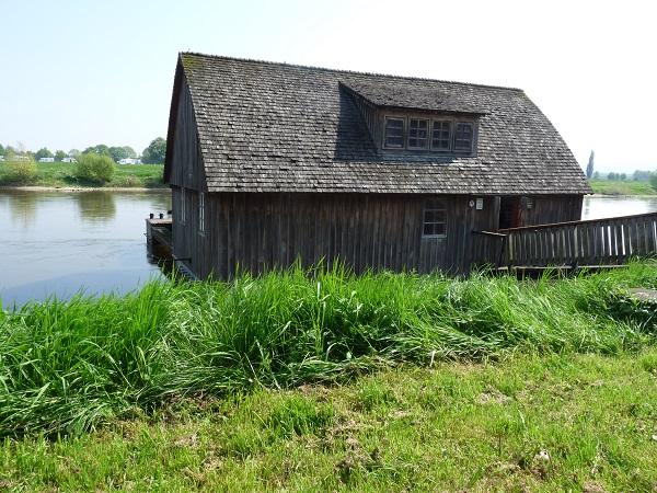 Schiffsmühle Weser bei Minden