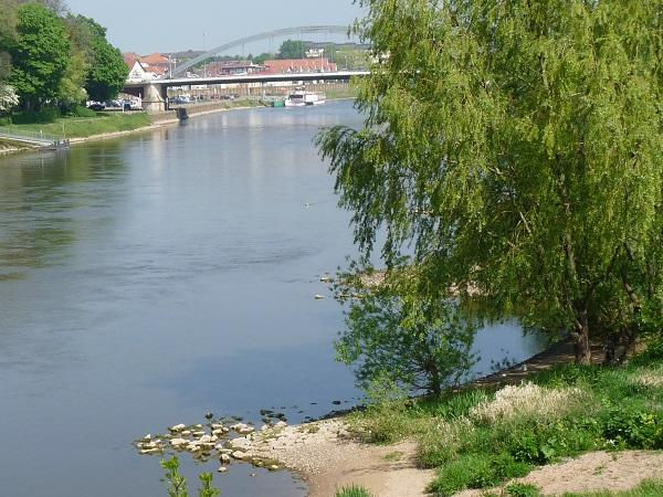 Weser bei Minden Weserbergland