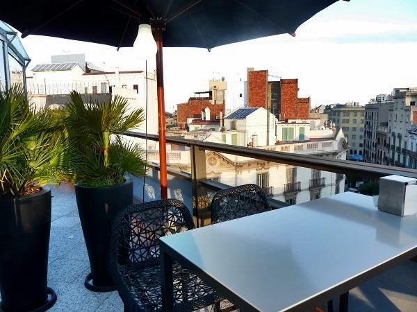 Barcelona Hotel Claris Restaurant Terrasse