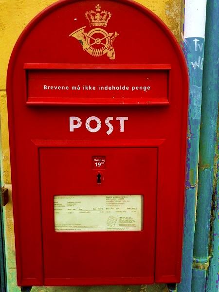 Briefkasten Kopenhagen