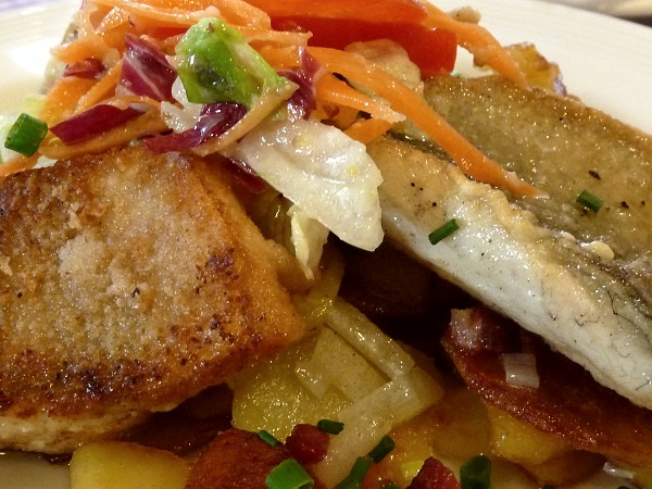 Hamburger Pannfisch