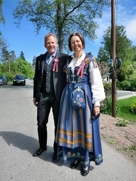 Norwegen Trachten Oslo