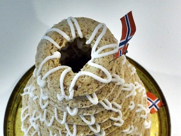 Norwegen traditioneller Kuchen