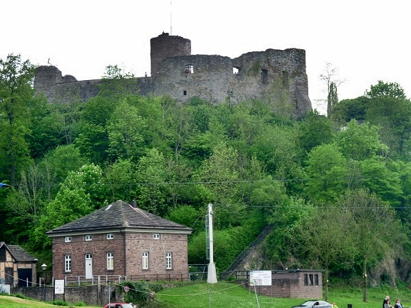 Poller Burg Polle Weserbergland