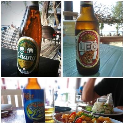 Tailändisches Bier