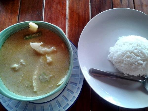 thailändische Küche Curry