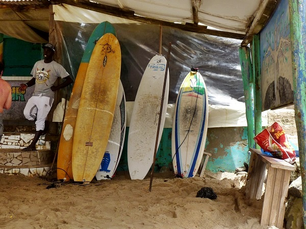 Virage Dakar Surfer Bar Senegal