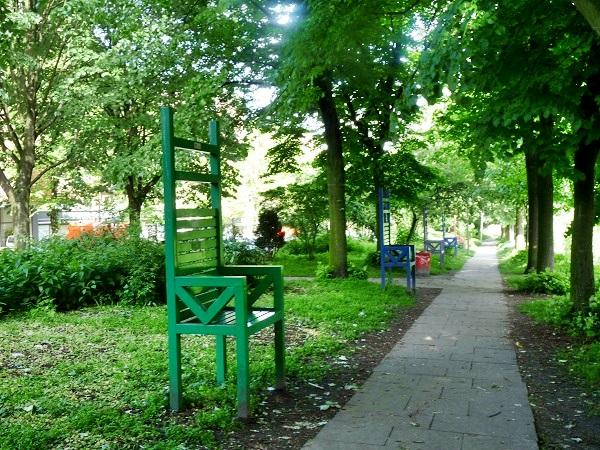 Hamburg Portugiesenviertel Stuhl