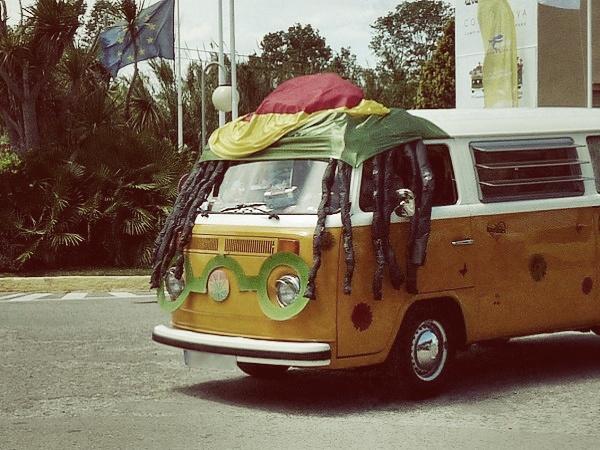 Reggae VW BUS 2014