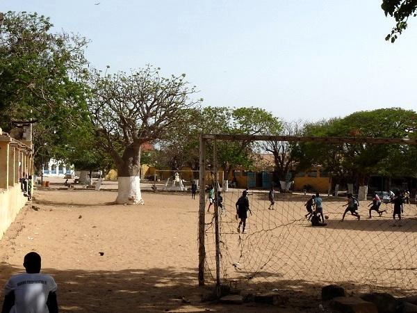futbal isla Goree Dakar - Senegal